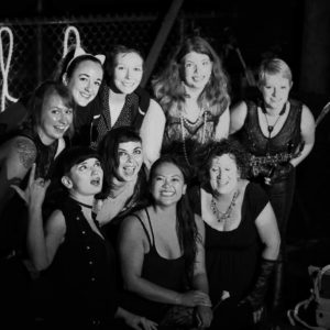 Clamor and Lace - Chicago's street marching band for people who identify as women or non-binary